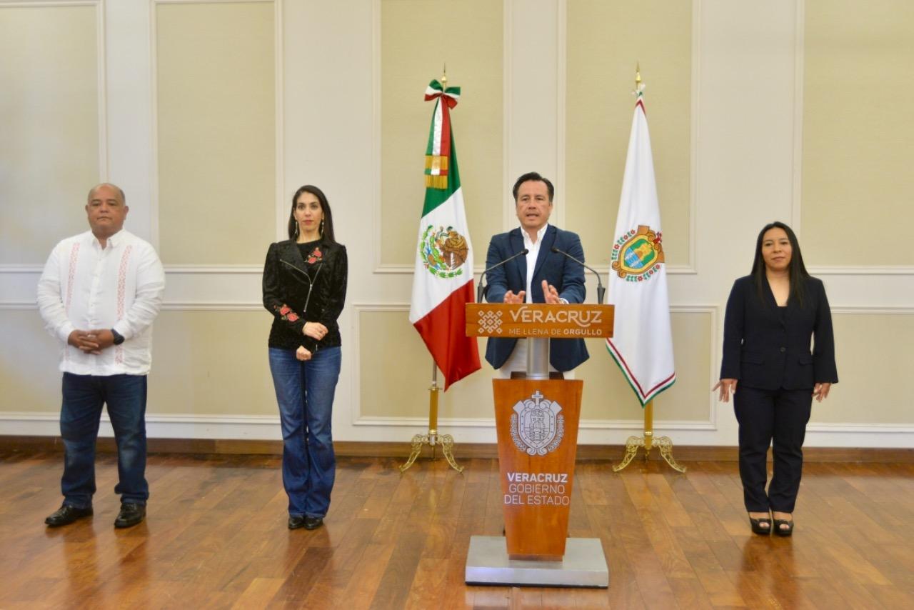 En Veracruz, hoy las mujeres están al frente del gobierno: Cuitláhuac García