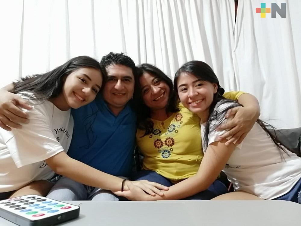 Después de un mes, familia logra vencer coronavirus en Coatzacoalcos