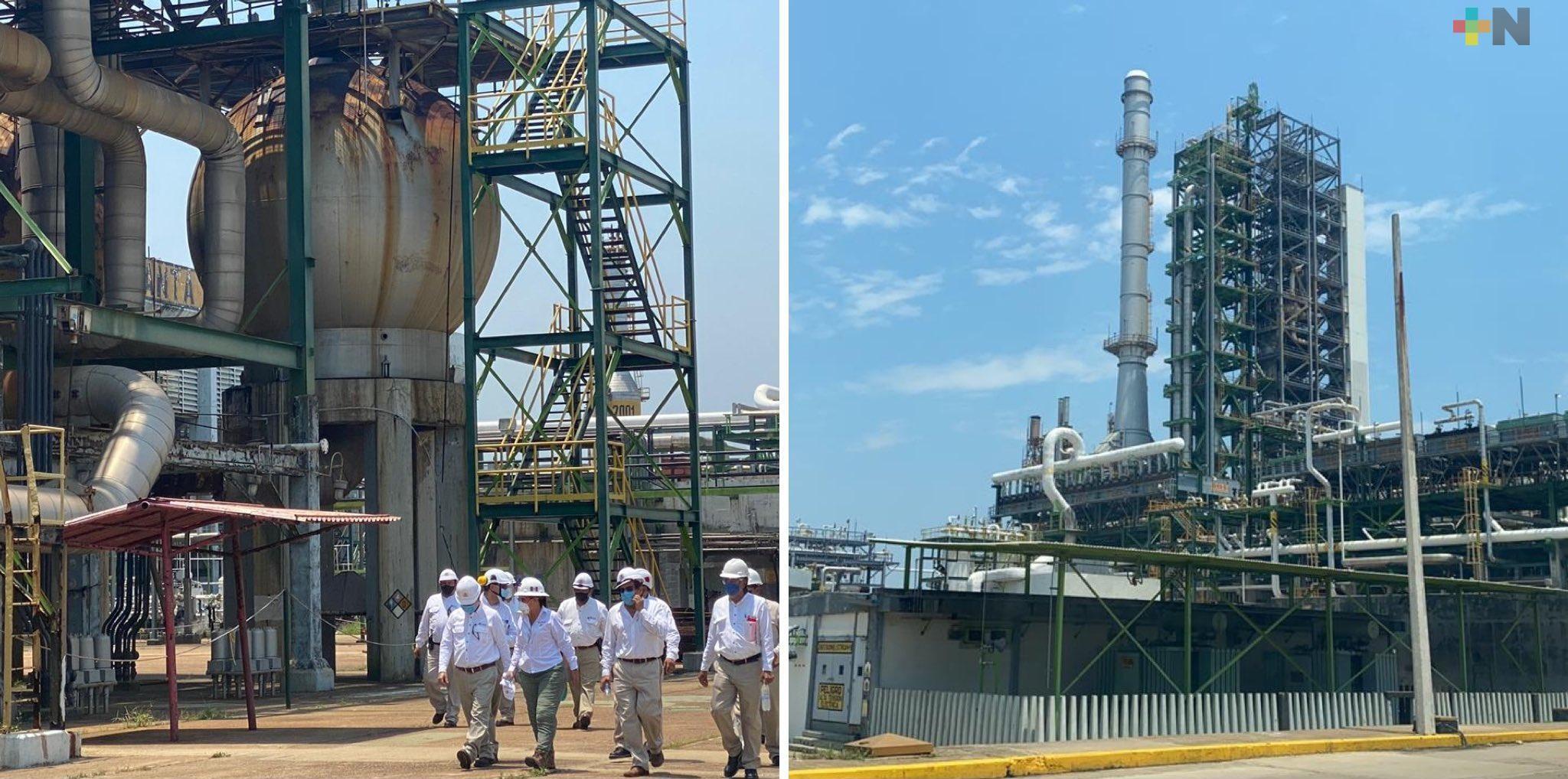 Tren de Refinación garantizará autosuficiencia de combustibles, reitera Rocío Nahle