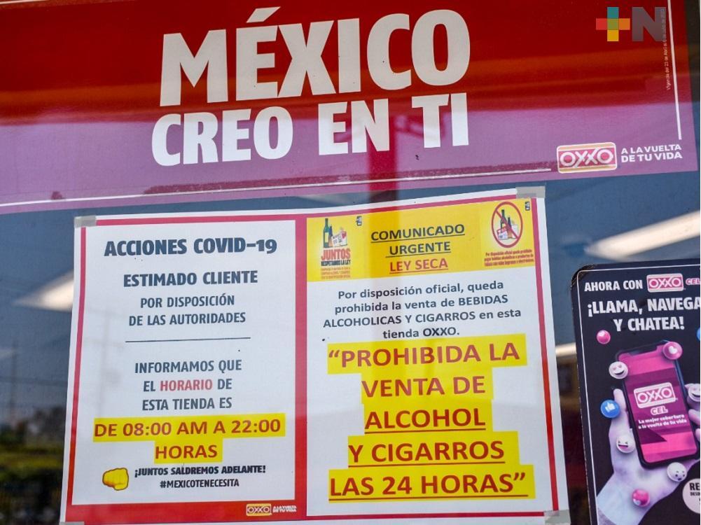 En Coatzacoalcos, tiendas de conveniencia suspenden venta de bebidas alcohólicas