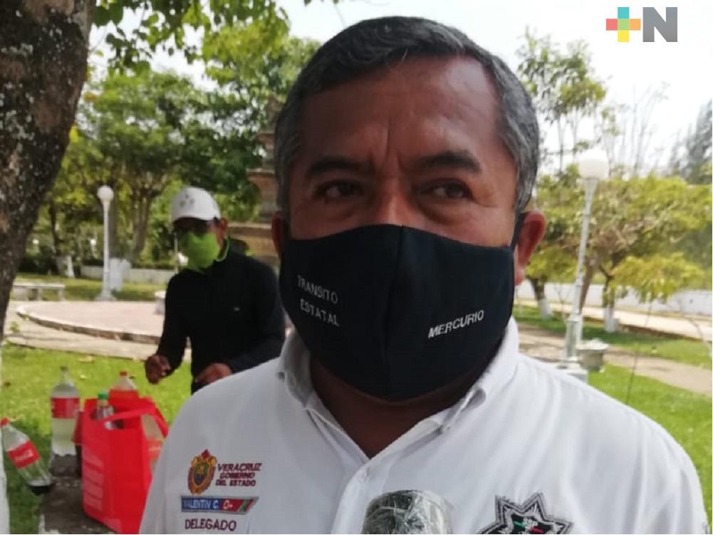En Nanchital, conductores sin cubrebocas no podrán ingresar al municipio