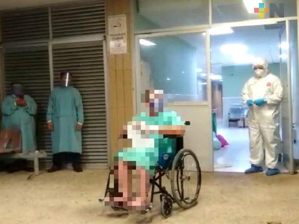 En un día, dan de alta a cinco pacientes diagnosticados con COVID-19 en Minatitlán