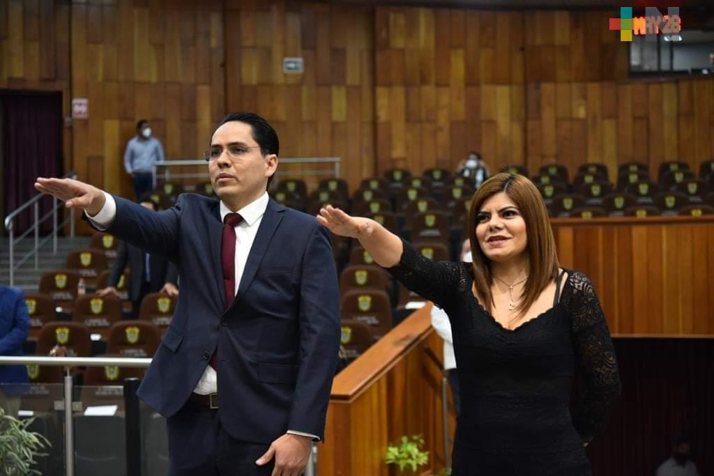 Designan a dos comisionados del Instituto Veracruzano de Acceso a la Información
