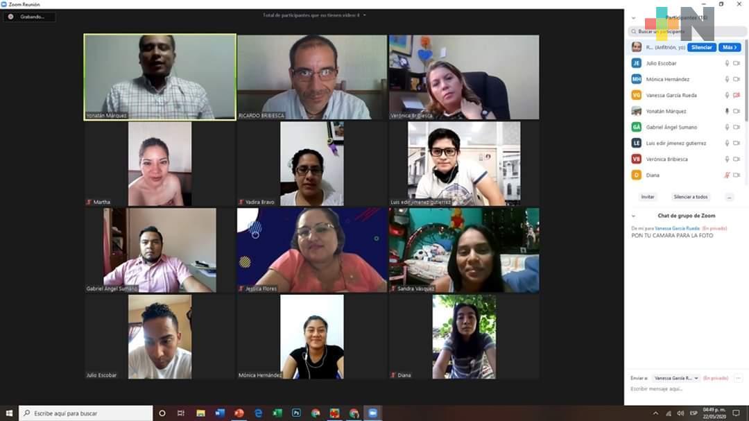 Graduaciones de manera virtual se realizan en Coatzacoalcos