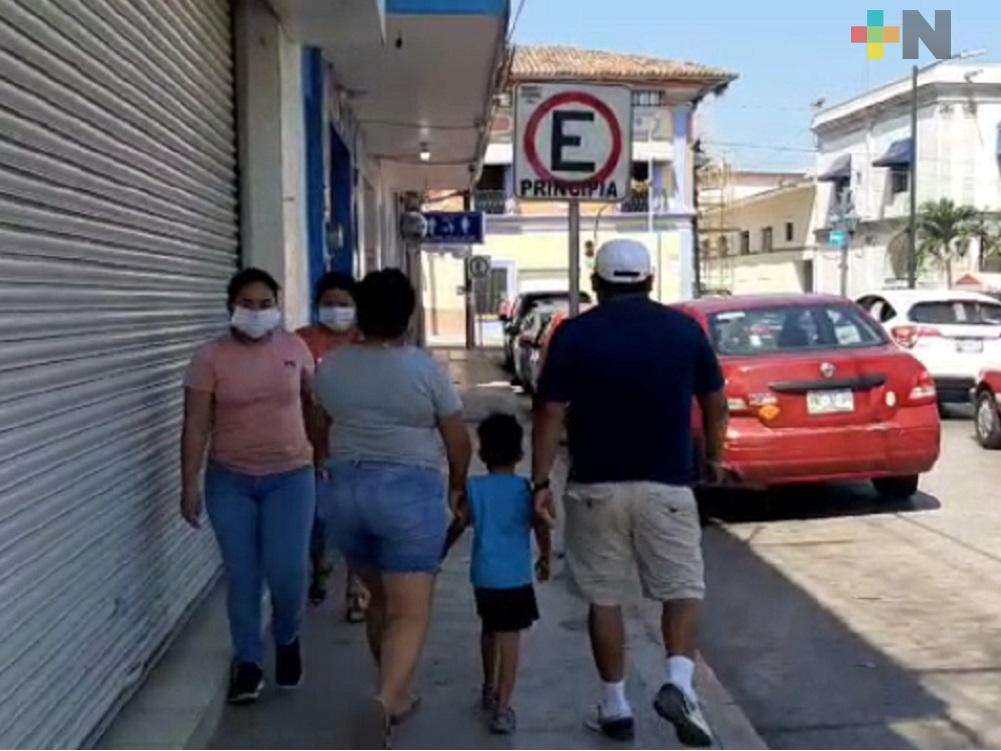 Por caso positivo de COVID-19 y tres sospechosos, habrá mayores restricciones en Tlapacoyan