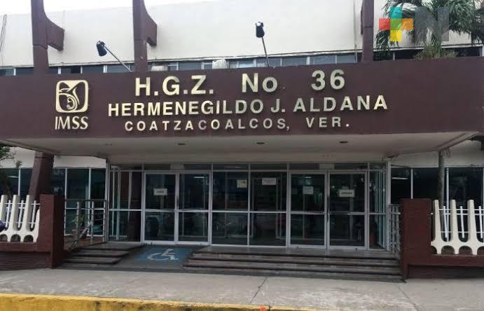 Habilitan quirófanos en Hospital General del IMSS de Coatzacoalcos