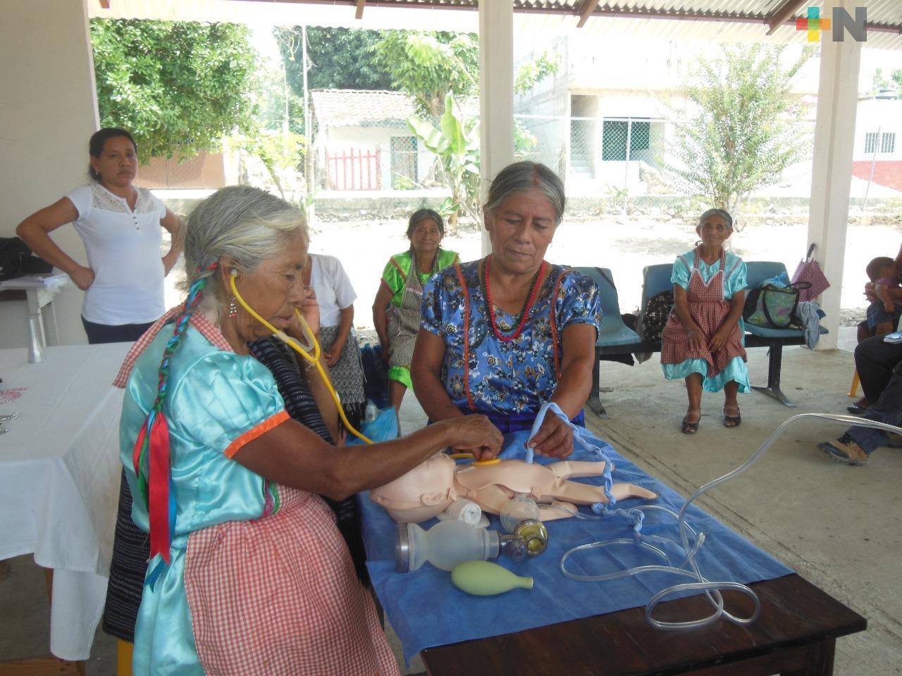 Reconoce Secretaría de Salud contribución de parteras tradicionales a la medicina actual