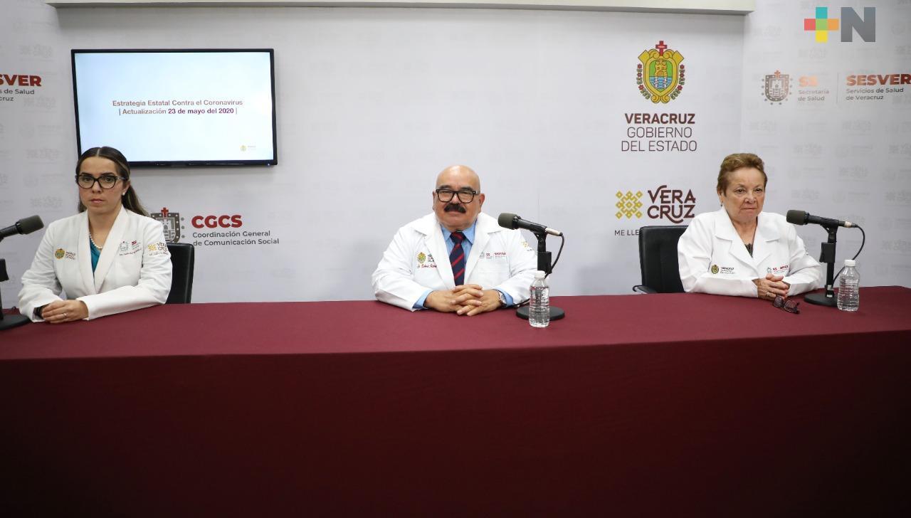 Registra Veracruz 92 nuevos casos de COVID-19, suman 2 mil 699