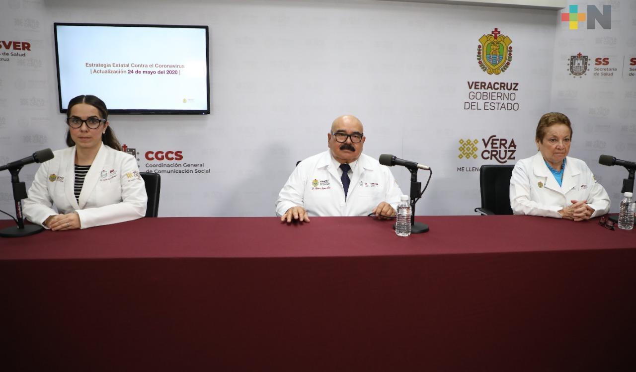 Aumentan a 2 mil 774 los casos de COVID-19 en Veracruz; la mayor carga de contagios se da en 28 localidades