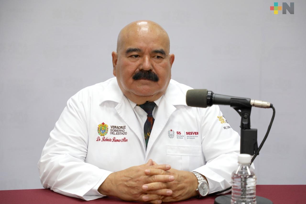 Se registran 122 nuevos casos de COVID-19 en Veracruz; suman 3 mil 383