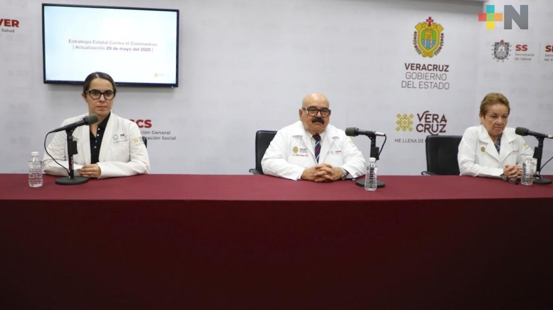 Registra Veracruz 3 mil 556 casos de Covid-19