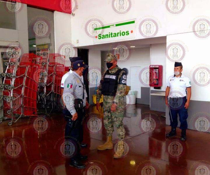 """Continúa IPAX en operativo """"Antisaqueo"""" durante emergencia sanitaria por COVID–19"""