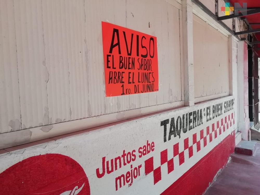 Negocios de Coatzacoalcos se preparan para reabrir el primero de junio; Canaco pide no apresurarse