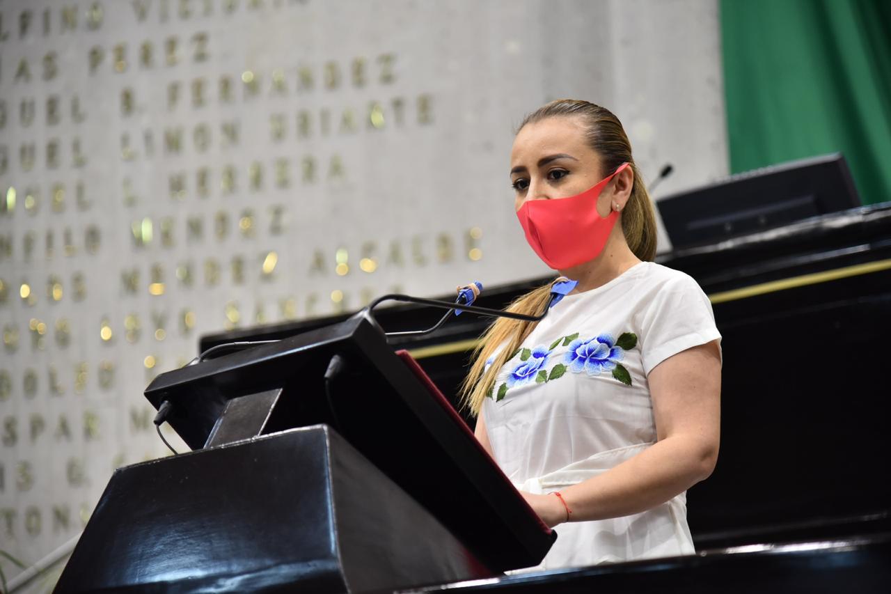 Diputada solicita al Ejecutivo realice acciones emergentes que erradiquen la violencia