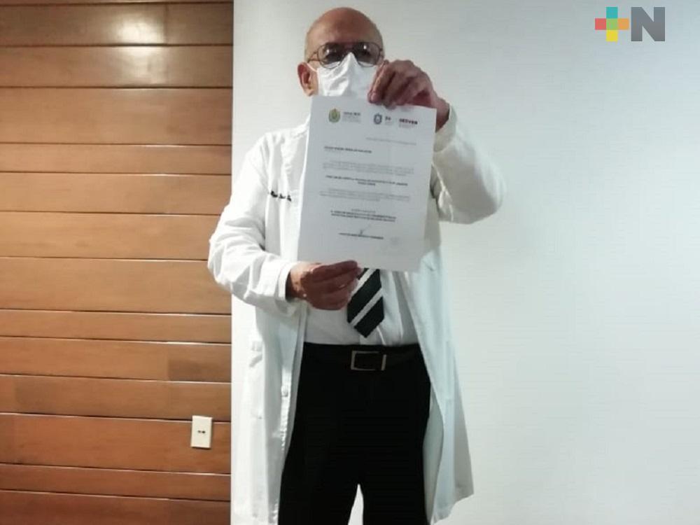 Pedro Miguel Rosaldo, nuevo director del Hospital Regional de Coatzacoalcos