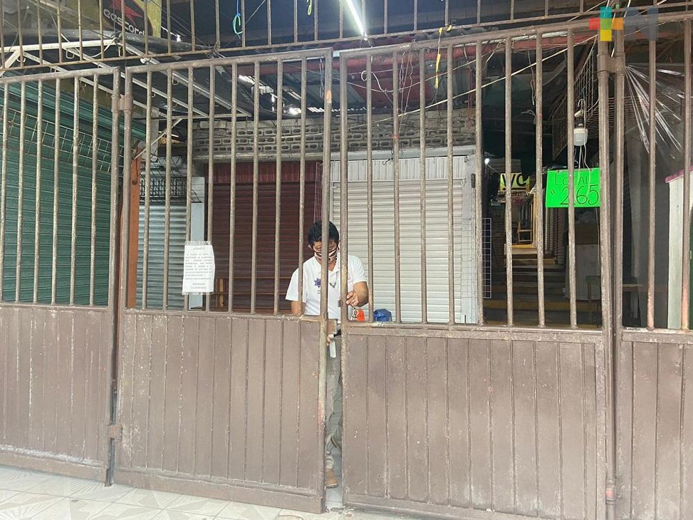 Próximo lunes, mercado Plaza del Sol de Coatzacoalcos reabrirá sus puertas