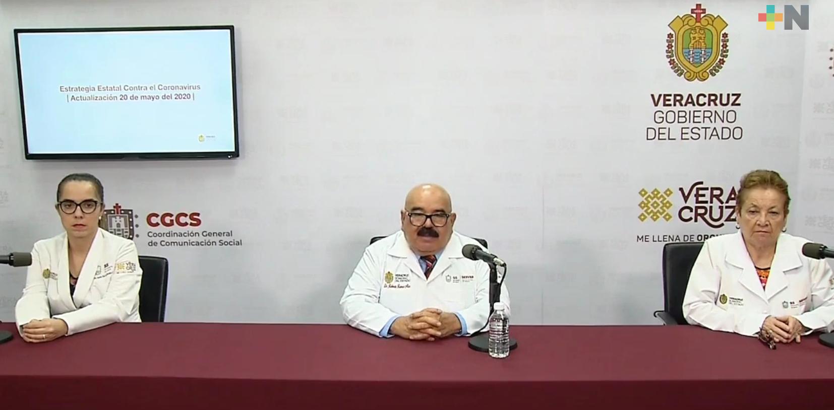 Aumentan a 2 mil 298 los casos de COVID-19 en Veracruz-Boca