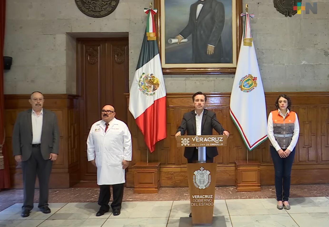 Medidas sanitarias de prevención  funcionan, no debemos aflojarlas: Cuitláhuac García