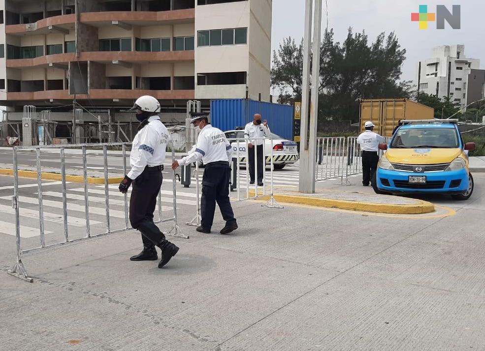 Boca del Río y Medellín de Bravo cierran algunas vialidades ante nuevas medidas sanitarias