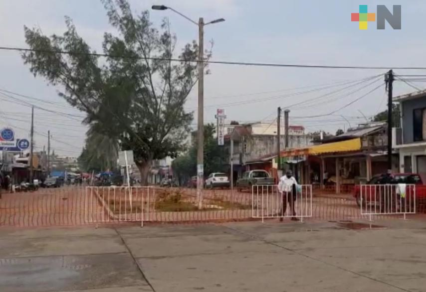 En Villa Allende cerraron la circulación de algunas calles