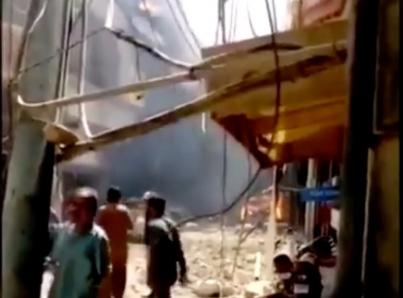 Se estrella avión comercial en Pakistán