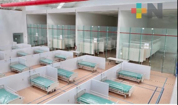 Centro de Raqueta de Boca del Río listo para recibir a pacientes con COVID-19