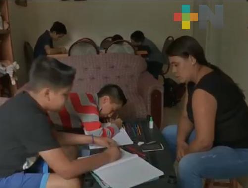 Mantener elevados niveles sanitarios para evitar contagios de COVID-19 en los menores de la casa: SIPINNA Xalapa