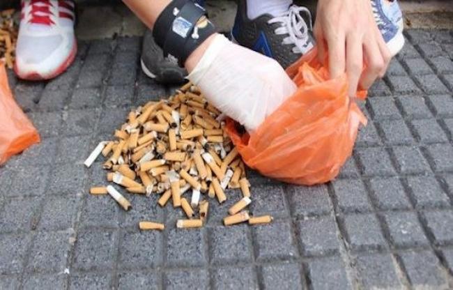 Llaman ONG a no tirar colillas de cigarros en la naturaleza