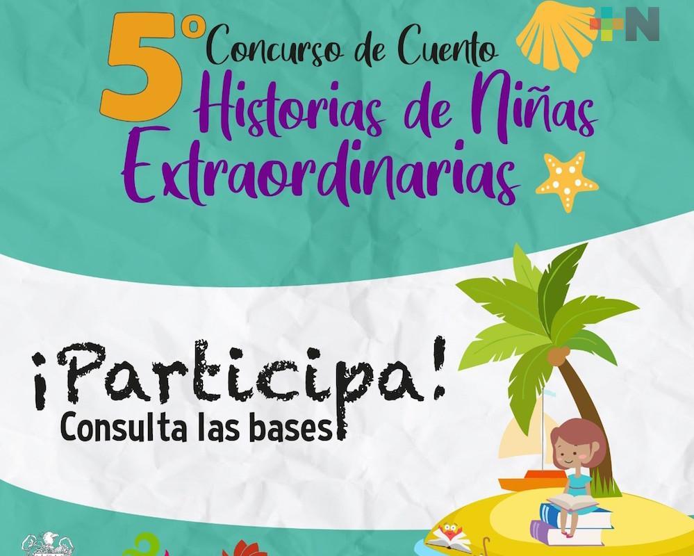 Ayuntamiento de Xalapa continúa invitando a participar en concurso «Historias de Niñas Extraordinarias»
