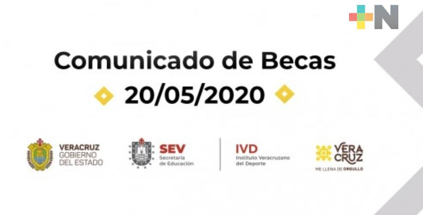 Nueva convocatoria a becas entrará en vigor a finales de 2020: IVD