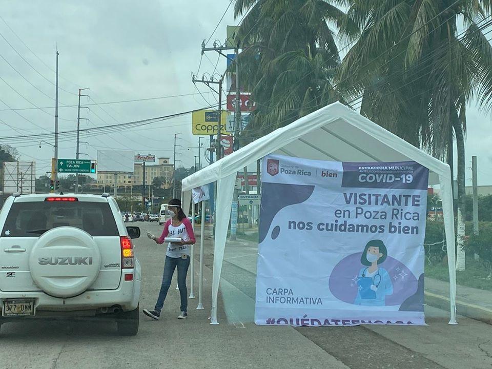 Municipio de Poza Rica mantiene semáforo epidemiológico rojo, reforzarán medidas preventivas