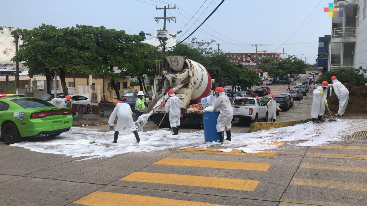 Con apoyo de CEMEX, inicia jornada de sanitización de hospitales públicos en Coatzacoalcos