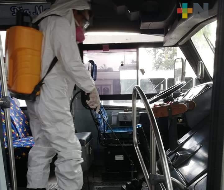 Transporte Multimodal agradece al gobierno estatal por sus acciones ante la pandemia