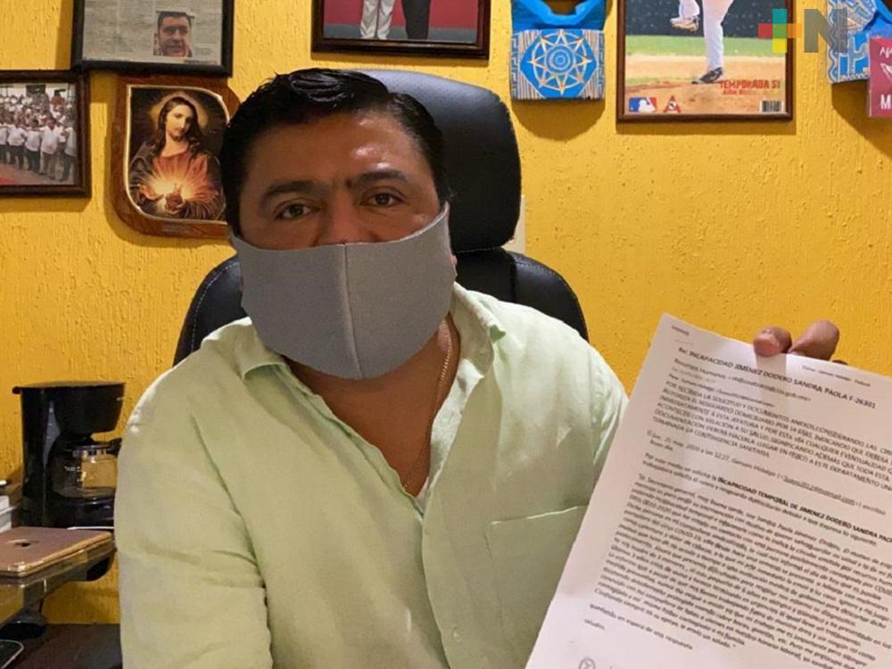 60 trabajadores sindicalizados del ayuntamiento de Coatzacoalcos, cumplen cuarentena por COVID-19: SUEM