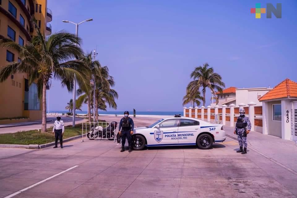 Principales vialidades de Boca del Río permanecerán cerradas por tiempo indefinido: Alonso Morelli
