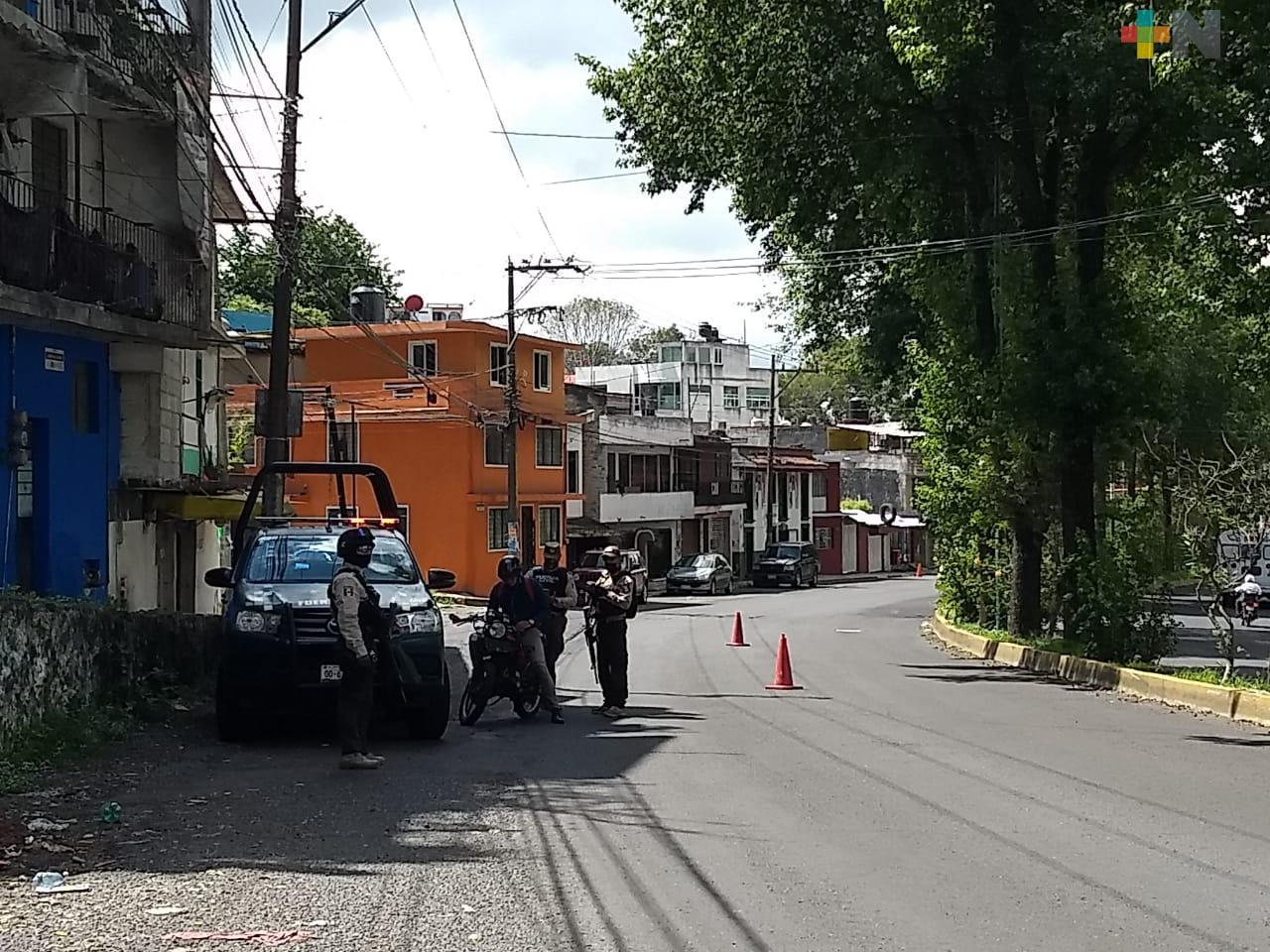 Siguen operativos de Construcción de la Paz, en Xalapa