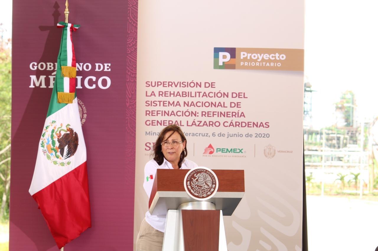 Logran avance del 56%  en rehabilitación de la refinería de Minatitlán