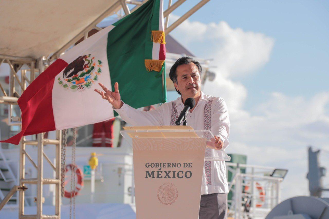 Primeros pasos del rescate al sector energético nacional, en Coatzacoalcos y Minatitlán: Cuitláhuac García