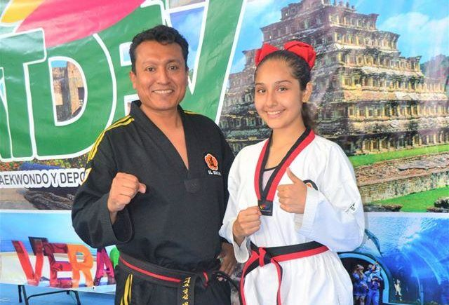 Alejandra Castelán participará en Mundial Escolar de Taekwondo 2021
