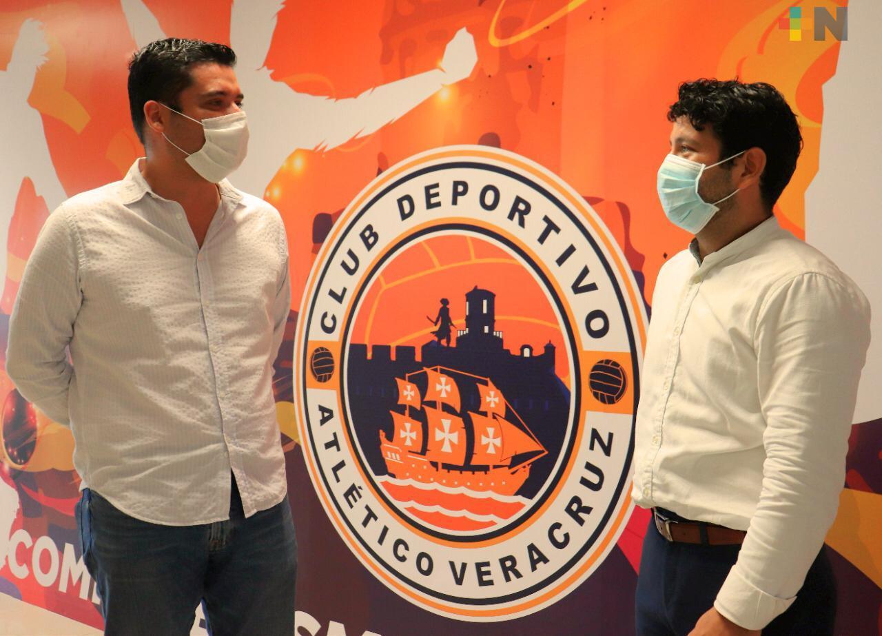 Atlético Veracruz y «Cancela el Cáncer» firman convenio