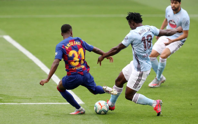 Barcelona y Celta empataron a dos