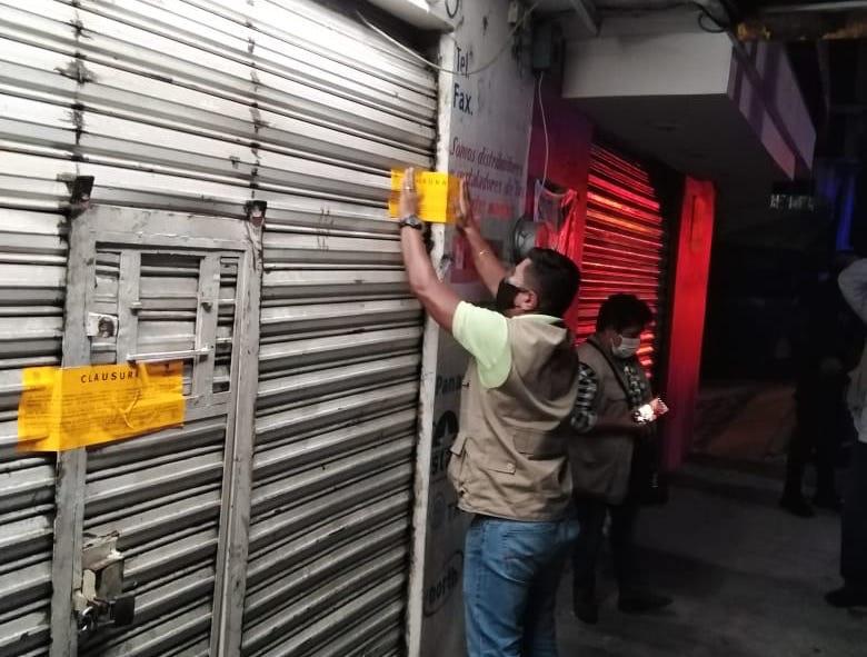 En Xalapa clausuraron seis bares–restaurantes por no respetar medidas sanitarias