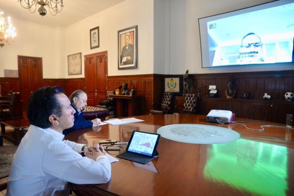 Participa Gobernador de Veracruz en reunión con Secretaria de Gobernación