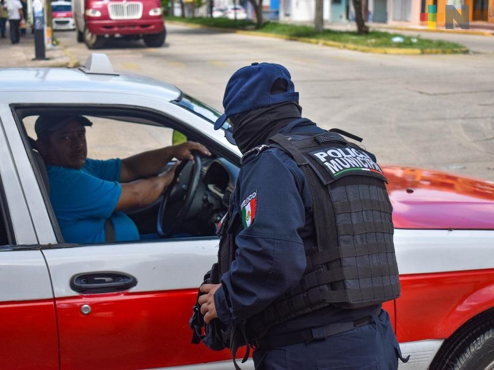 En Tuxpan sancionarán a policías municipales que hayan ejercido abuso de autoridad