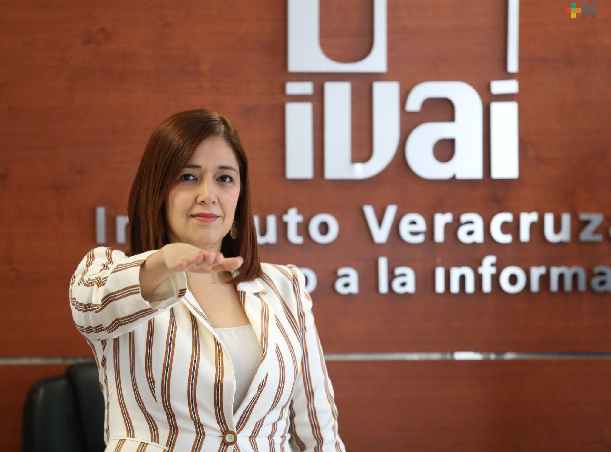 Asume comisionada Naldy Rodríguez presidencia del IVAI