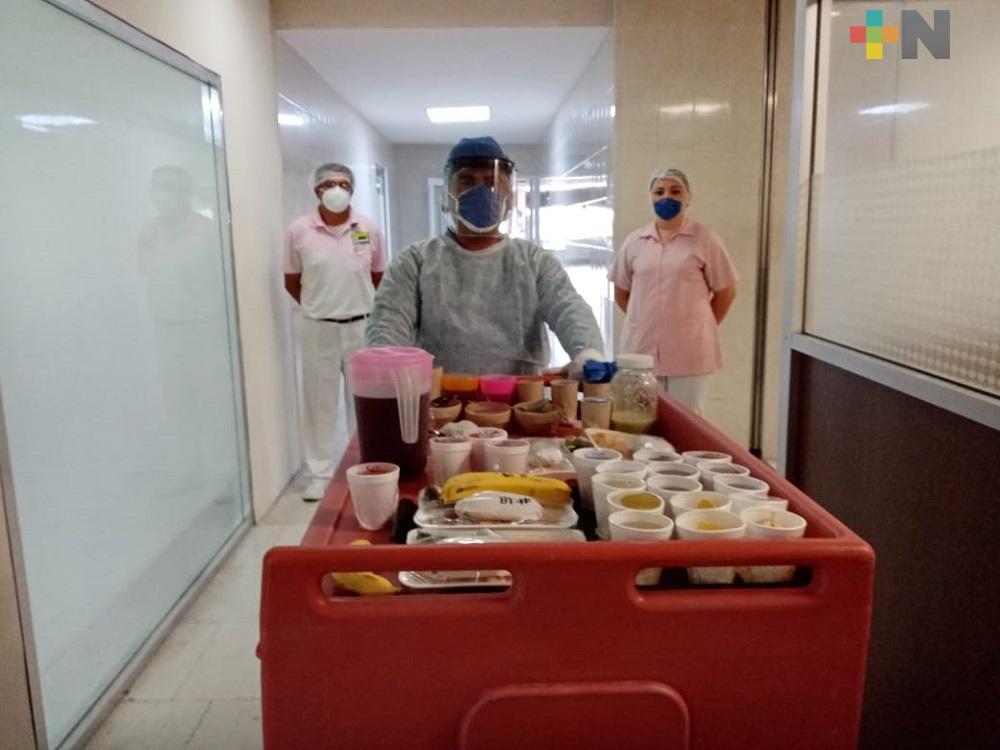 En el sur de Veracruz, IMSS reconoce trabajo del personal nutricionista en su día