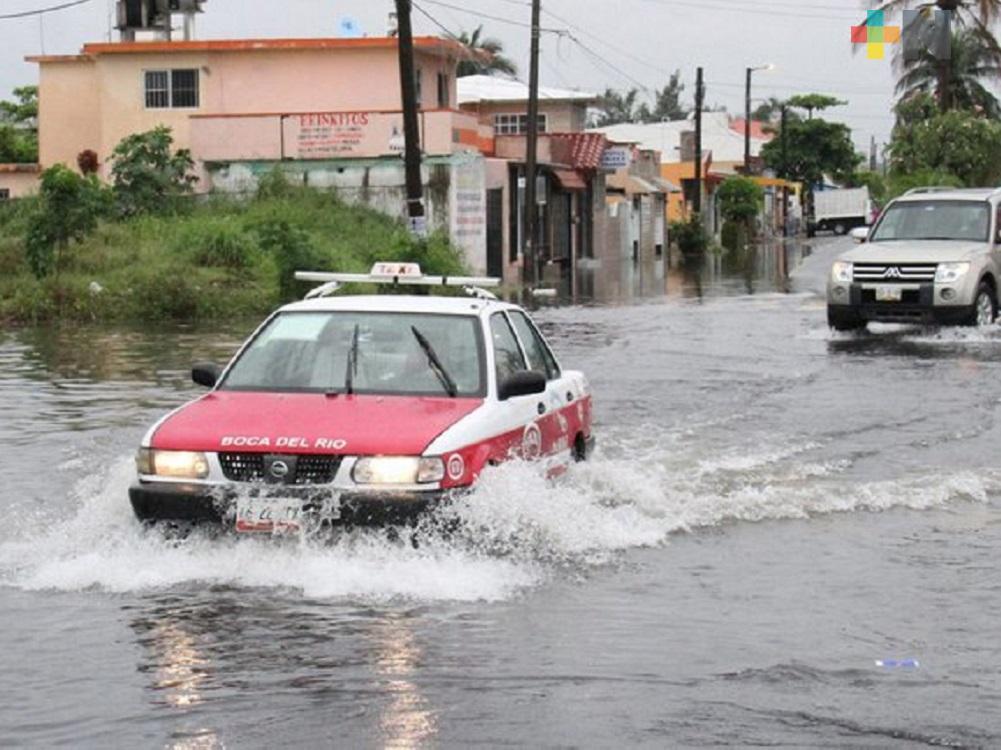 Fin de semana con lluvias fuertes a muy fuertes en la entidad veracruzana