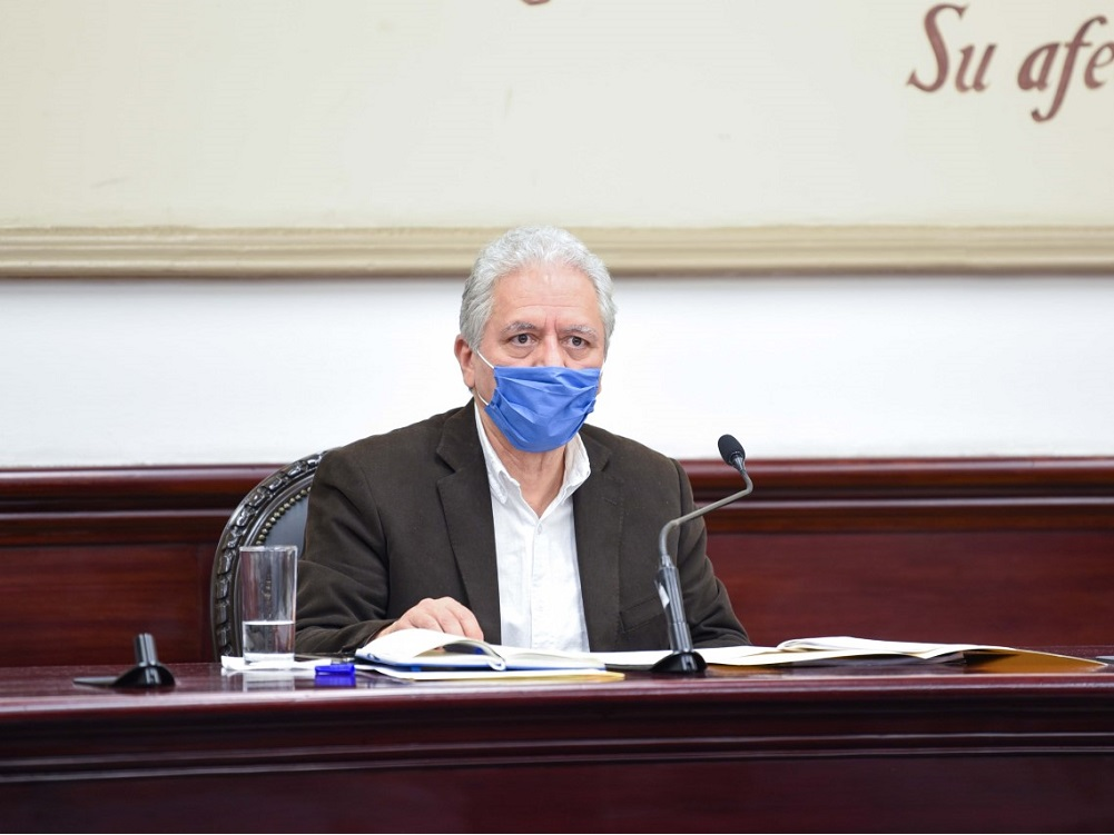 Cuartel de Guardia Nacional  no será construido en parque La Loma de Xalapa: Hipólito Rodríguez