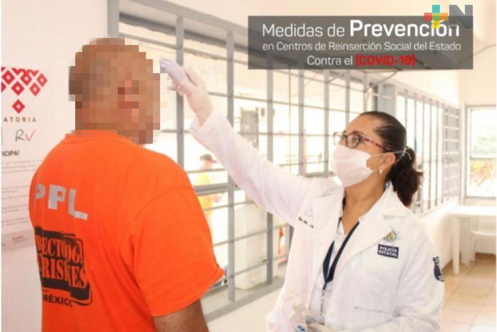 Descarta Hugo Gutiérrez que en penales de Veracruz existan casos de COVID-19