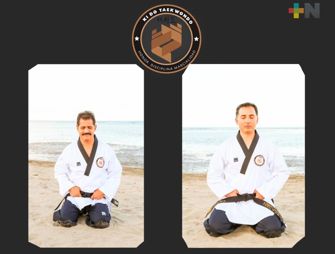 Entrenadores de KIDO Taekwondo Veracruz participaron en Congreso Mundial Online Deporte y Educación Física